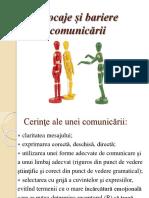 Blocaje Și Bariere Comunicării