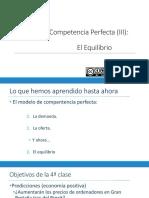 Clase magistral numero 4 principios de economia UC3M