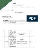 Planificare Clasa a IV-a Lb. eng.