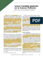 Drug Resistance in Cancer Patient