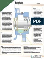 pump bearing housing bp poster