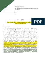 U2 - OVEJERO BERNAL - CAP XVII - Psicología Del Comportamiento Colectivo