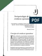 U2 - TRUJILLO - Cap 3 Sociopsicología de La Conducta Espontánea