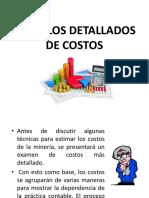 Cálculos Detallados de Costos