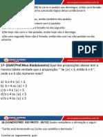 Aula 06 - Equivalência de Frases Condicionais II 2