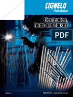 Electrodes, Rods and Fluxes