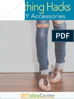 7 Clothing Hacks 3 DIY Accessories eBook