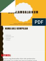 Assalamu Alai Kun