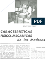 Caracteristicas Fisicomecanicas de La Madera