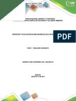 Act.1definicion y Evaluacion de indicadores ambientales