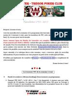 Newsletter n°35 - 2017 (20 octobre 2017)