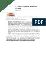 Consejos de cómo organizar nuestros gastos personales.docx