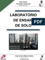 Laboratório de Ensaio de Solo