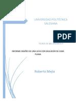 Informe Mecanismos Leva