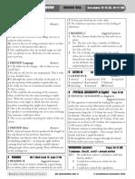 QSE INT Answer Key 2009 Unit 17