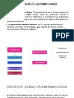 Organización Administrativa Expo