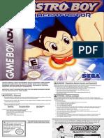 Astro Boy - Omega Factor - Manual - GBA
