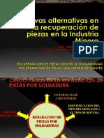 Curso Recuperacion Piezas Industria Mineria