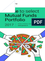 Guide to Select Mutual Funds Portfolio