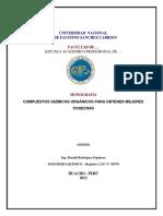 Monografía_Productos Químicos Agrícolas