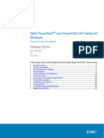 PowerPath Family for Windows 6.2 and Minor Releases Release Notes