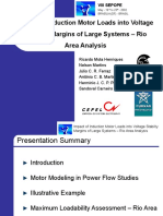 Impact of Induction Motor Loads into Voltage Stability Margins of Large Systems – Rio Area Analysis