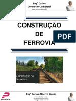 Construção de Ferrovia