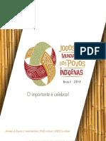 Relatório Jogos Mundiais Dos Povos Indigenas 2015