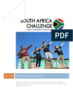 south africa challenge report