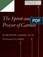 The Spirit and Prayer of Carmel