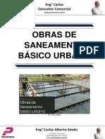 Obras de Saneamento Básico Urbano