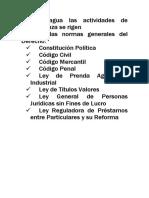 En Nicaragua las actividades de microfinanza se rigen.doc