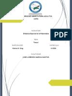 Didactica Especial de La Matematica-melvin