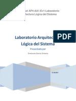 319172719 Laboratorio Arquitectura Logica Del Sistema PDF