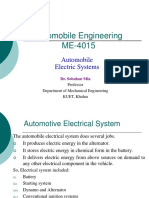 Automobile Engineering - Automobile Electric Systems