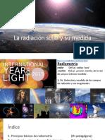 Fundamentos de La Energía Solar - Magister 2017