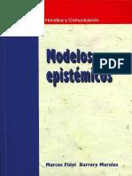 Cap 1 Qué cosas son los Modelos epistémicos- Marcos Fidel Barrera Morales.pdf