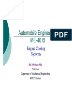 Automobile Engineering - Engine Cooling Systems