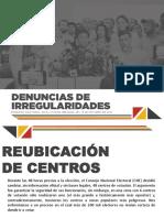Irregularidades Elecciones Regionales Miranda 2017