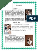 Blogueros -Diana Sinisterra