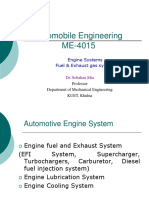 Automobile Engineering - Fuel and Exhaust System