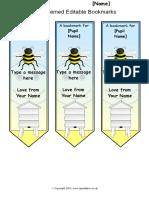 Bookmark Template 03