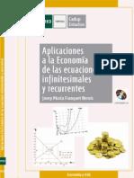 Aplicaciones a La Economía de Las Ecuaciones Infiniesimales y Recurrentes - UNED