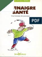 Le Vinaigre Santé - Marie France Muller