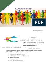 Psicologia Comunitaria Origenes Concepto Metodos. Dra Iraima v. Martinez m.