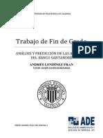 Lendínez - Análsis y Predicción de Las Acciones Del Banco Santander