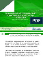 Diapositiva Trastorno de Personalidad, Facticio, Somatomorfo, Ansiedad (1)