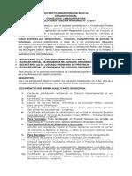 Convocatoria de Apoyo Jurisdiccional 13-2017 Septiembre