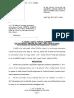 Stern vs. Miami II - Motion for Contempt of Court