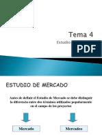 4.Estudio de Mercado